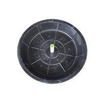 Buy cheap P3030 Manufacturer SMC manhole cover round dia 30/40/50/60cm cover nonbreakable grass planting recessed manhole covers from wholesalers