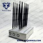 Buy cheap 18 Antennas 18W Wifi 2.4g 5.2g 5.8g 30m Mobile Signal Blocker from wholesalers