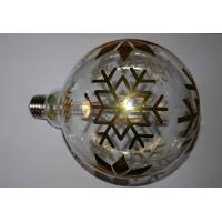 Buy cheap G125 Art Laser Vintage Decorative LED Bulbs Map Tree Snow Christmas Bulb from wholesalers