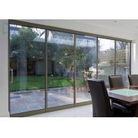 Buy cheap American Thermal Break Residential Aluminium Sliding Doors With Security Wire Mesh from wholesalers