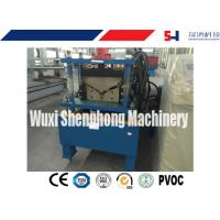 China ISO Hydraulic Roof Ridge Cap Roll Forming Machine with Industrial GCr15 Roller on sale