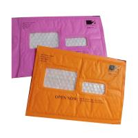 Buy cheap Pink Kraft Shipping Envelopes , Kraft Padded Mailers Window Ideal For Address Label from wholesalers