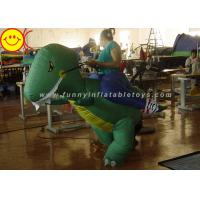 Buy cheap Large Halloween Nylon Adult Inflatable Dinosaur Costume For Party Game from wholesalers
