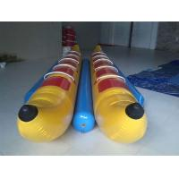 Buy cheap 10 Seats Inflatable Toy Boat , Flyfish Boat PVC Inflatable Banana Boat for Water Game from wholesalers