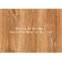 Buy cheap MDF Skirting Board Cover Wood Grain Film Brown Color 500 Meters / Roll from wholesalers