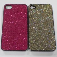 Buy cheap Shimmering Powder Plastic Mobile Phone Clear Cases Protective Hard Case for iPhone 4 or 4S from wholesalers