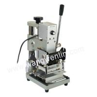 Buy cheap membership ID card tipper ,VIP card gilding machine from wholesalers