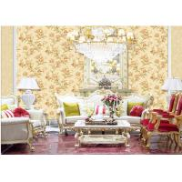 Buy cheap Fashion Flower Embossed Wall Covering Italy Style Embossed Floral Wallpaper product
