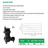 Buy cheap SEWAGE PUMP SDZ-450X product