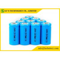 Buy cheap 3.2V IFR123A 500mah Rechargeable Lithium Ion Battery OEM / ODM Available from wholesalers