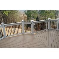 Buy cheap Recyclable WPC Deck Flooring For Yard , Waterproof Decking Materials from wholesalers