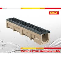 Buy cheap MEA Polymer Concrete Drainage Channel ,trench drain channel from wholesalers