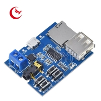 Buy cheap Custom Printed Circuit TF Card Pcb Board U Disk MP3 Format Decoder Board Module Amplifier Decoding Audio Player from wholesalers