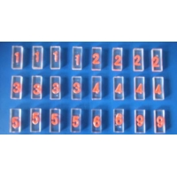 Buy cheap Acrylic Base Lead Letter Lead Tape / Magnetic Lead Markers ISO Approval from wholesalers