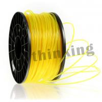 Buy cheap Yellow Color HIPS Plastic Rod 1kg Good Flexibility 3D Filament from wholesalers
