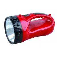 China Safe Camping High Powerful Led Rechargeable Emergency Light In Red Color on sale