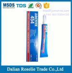 Buy cheap Loctite 454 Instant Adhesive Gel 20gram loctite 403 406 410 414 415 460 480 495 496 plastic super glue from wholesalers