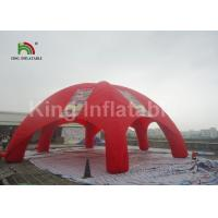 Buy cheap Plato 0.45 Mm PVC Tarpaulin Inflatable Event Tent For Advertising With Printing from wholesalers