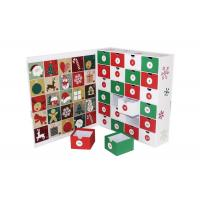 Buy cheap Exquisite Luxury Christmas Packaging Calendar Christmas Drawer OEM Service from wholesalers