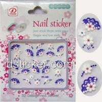 Buy cheap Fashion Nail Sticker, 3D Nail Sticker, Nail Sticker with Acryl Diamond from wholesalers