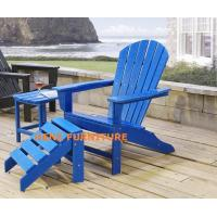 Buy cheap plastic-wood adirondack chair from wholesalers