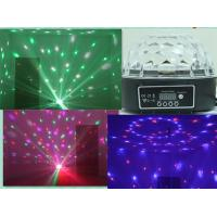Buy cheap Crystal Ball LED Effect Light , super bright 6*3W RGBWY Purple led Stage lights from wholesalers