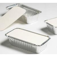 Buy cheap Aluminum Foil Container Lid for takeaway food packaging from wholesalers