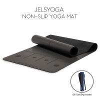 Buy cheap Natural Rubber Folding Exercise Mat , Anti Fatigue Firm Grip Travel Pilates Mat  , Gray from wholesalers