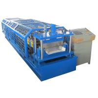Buy cheap Standing Seam Metal Roof Panel Machine / Self Lock Roof Sheet Roll Forming Machine from wholesalers