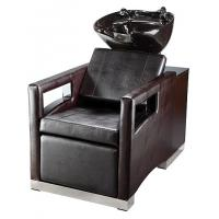 Buy cheap Luxury Salon Shampoo Chairs With Cushion Headrest , Electric Footrest from wholesalers