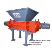 Buy cheap double shaft shredder / solid waste solved / two rotors crusher / 2 engines shredder for waste crushing and recycling from wholesalers