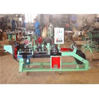 Buy cheap Reverse Twisted Razor Barbed Wire Machine 1.6mm 2.8mm 50kg/H 100kg/H from wholesalers