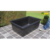 Buy cheap large Plastic rectangular water basin - poly pond 600Liter from Wholesalers
