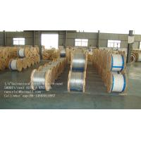 Buy cheap ASTM A 475 5000 Ft / Reel 1 4 Galvanized Aircraft Cable Wire Rope For Guy Wire from wholesalers