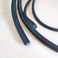 Buy cheap high quality customized 10-30 shore A diffrent sizes silicone/EPDM rubber strip from wholesalers