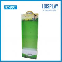 Buy cheap Cardboard hanging display board  point of purchase display for supermarket racks from wholesalers