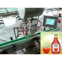 Buy cheap Piston Rotary Monoblock Automatic Liquid Filling Machine for Fruit Jam from wholesalers
