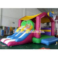 Buy cheap Candy House Kids Jumping Castle With Commercial 0.55mm PVC Tarpaulin from wholesalers