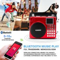 Buy cheap Newgood 20W Bluetooth Outdoor Music Player with Voice recording and Handle from wholesalers