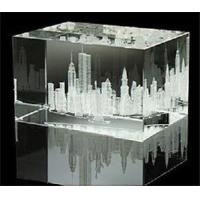 Buy cheap 3D Laser Crystal Cube (JC040CL) from wholesalers