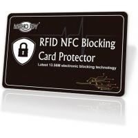 Buy cheap Passport Rfid Blocking Credit Card Protector Smooth Design EMI Shielding from wholesalers