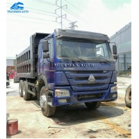 Buy cheap 6x4 371hp Sinotruck Used Howo Dump Truck Made In Year 2016 from wholesalers