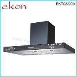 Buy cheap 90cm Black Stainless Steel Sensor Touch Designer Cooker Hood from wholesalers