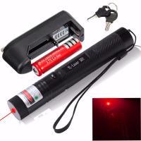 301 Adjustable 650nm Laser Pointer Pen Focuing Red Laser Pen 18650 Battery
