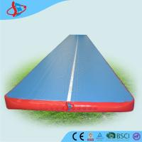 Buy cheap Customized inflatable trampoline tumble track for gymnasium OEM / ODM from wholesalers