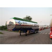 Buy cheap Shengrun brand 42 Cubic meters aluminum alloy fuel tanker semi trailer from wholesalers