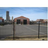 Buy cheap Economical Black Cast Iron Fence , Black Rod Iron Fence Panels For 3 Rails from wholesalers