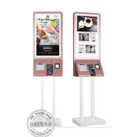 Buy cheap Floor Standing Touch Screen Digital Signage Self Service Payment Kiosk With POS Terminal from wholesalers