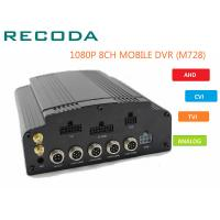 Buy cheap 8 Channel 4G WIFI HD 1080P Vehicle DVR H.264 Compression For Car CCTV System product