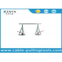 Buy cheap Stringing Tools 30-50KN Lever Type Cable Drum Simple Reel Pay-off Stand from wholesalers
